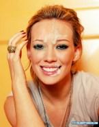 Hilary Duff Facial Cumshot 001