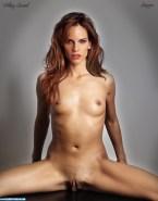 Hilary Swank Tits Exposing Vagina 001