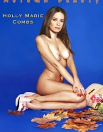 Holly Marie Combs Movie Cover Naked Body Fake 001