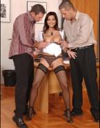 Holly Valance Pinching Nipples Panties Aside Porn 001