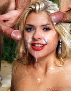 Holly Willoughby Gangbang Cumshot Facial Porn Sex Fake 001