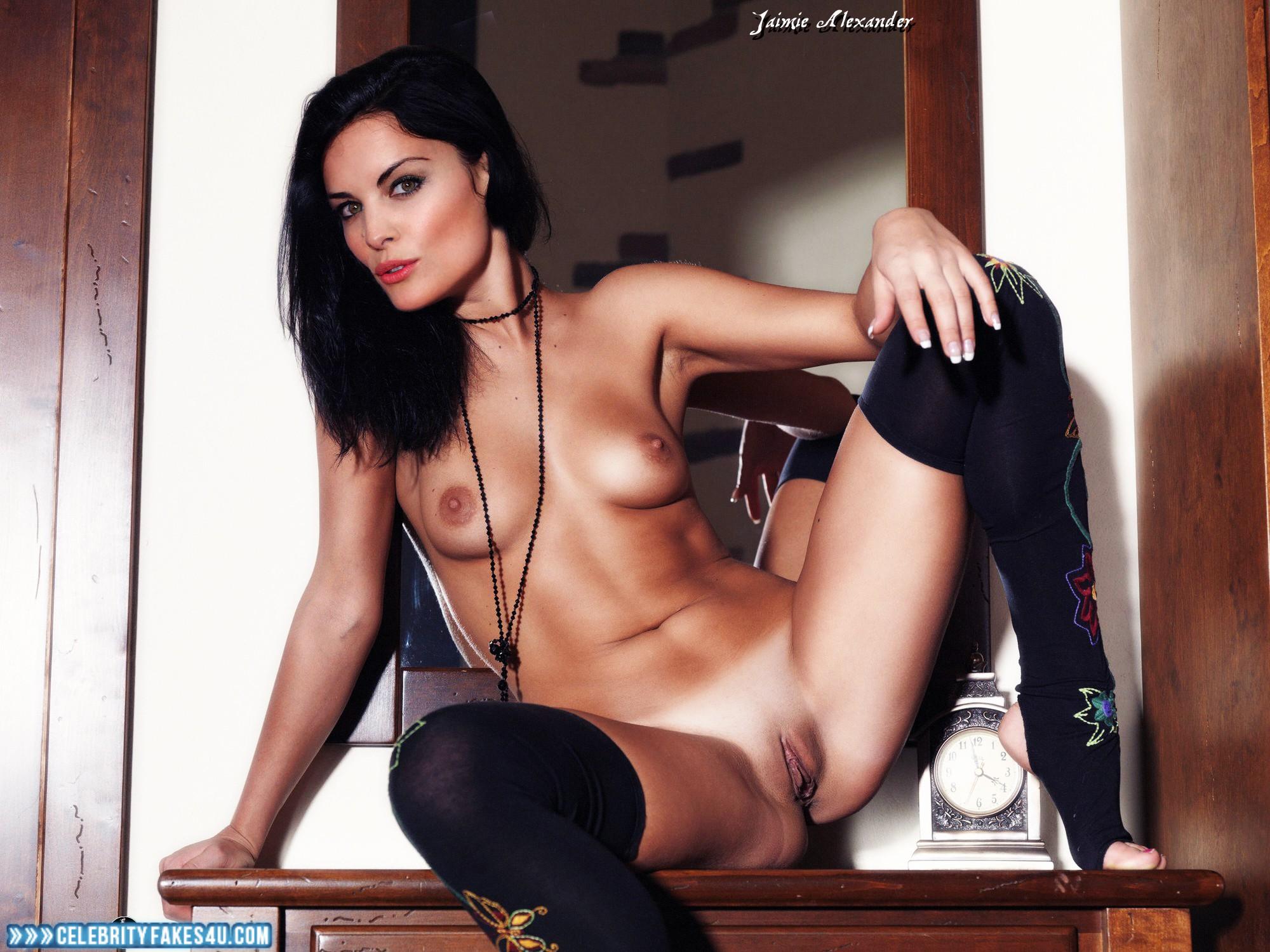 Jaimie Alexander Tits Exposing Vagina Porn 001  Celebrity -4219
