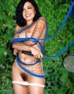 Jenifer Bartoli Hairy Pussy Pulls Panties Down 001