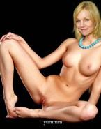 Jennie Garth Tits Vagina Legs Spread Naked Fake 001