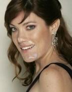 Jennifer Carpenter Horny Cum Facial Porn 001