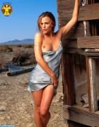 Jennifer Garner Flashing Tits Outdoor 001