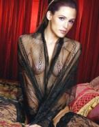 Jennifer Garner See Thru Lingerie 001