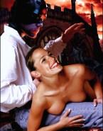 Jennifer Garner Sideboob Spanked Naked 001