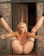 Jennifer Lawrence Bondage Legs Spread 001