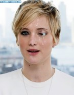 Jennifer Lawrence Cum Facial 001