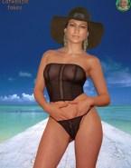 Jennifer Lopez See Thru G String Nude 001