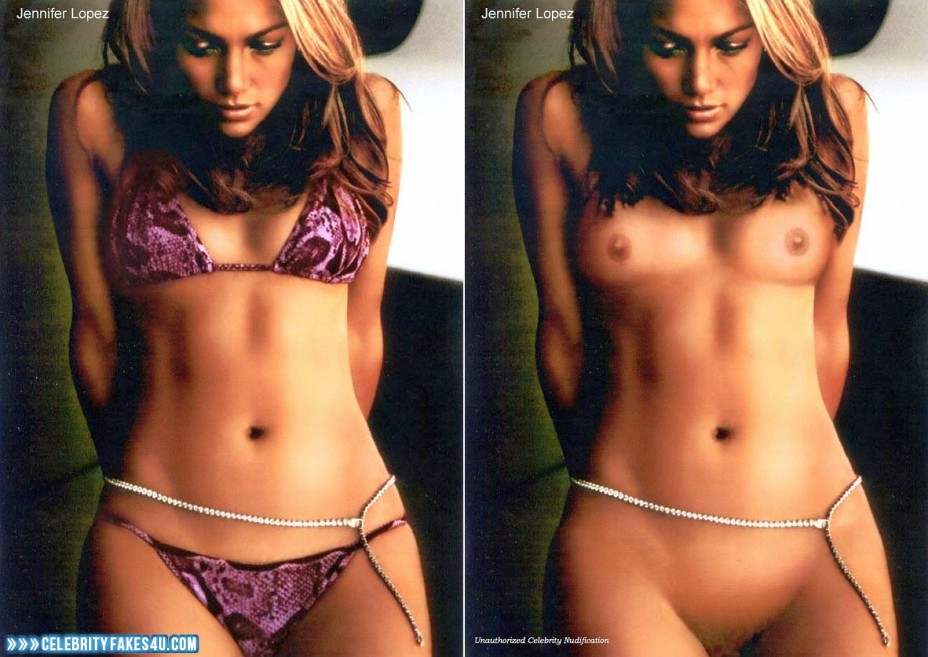 Jennifer Lopez Fake, Big Tits, Bikini, Completely Naked Body / Fully Nude, Lingerie, Small Tits, Undressing, Porn