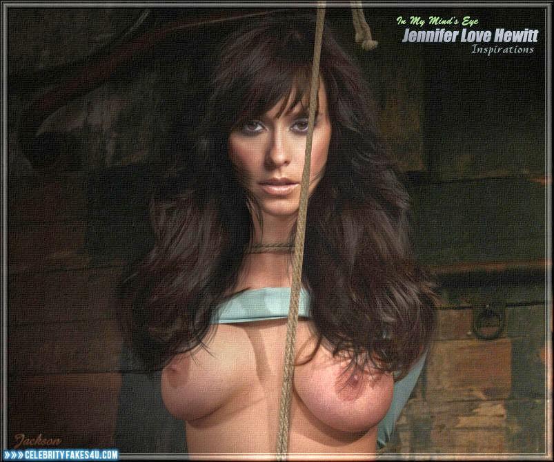 Jennifer love hewitt naked breast