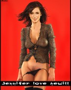 Jennifer Love Hewitt Undressing See Thru Fake 001
