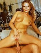 Jennifer Morrison Reverse Cowgirl Spread Pussy Sex 001