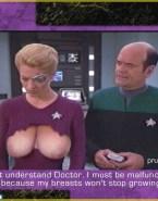 Jeri Ryan Big Tits Star Trek Naked 001