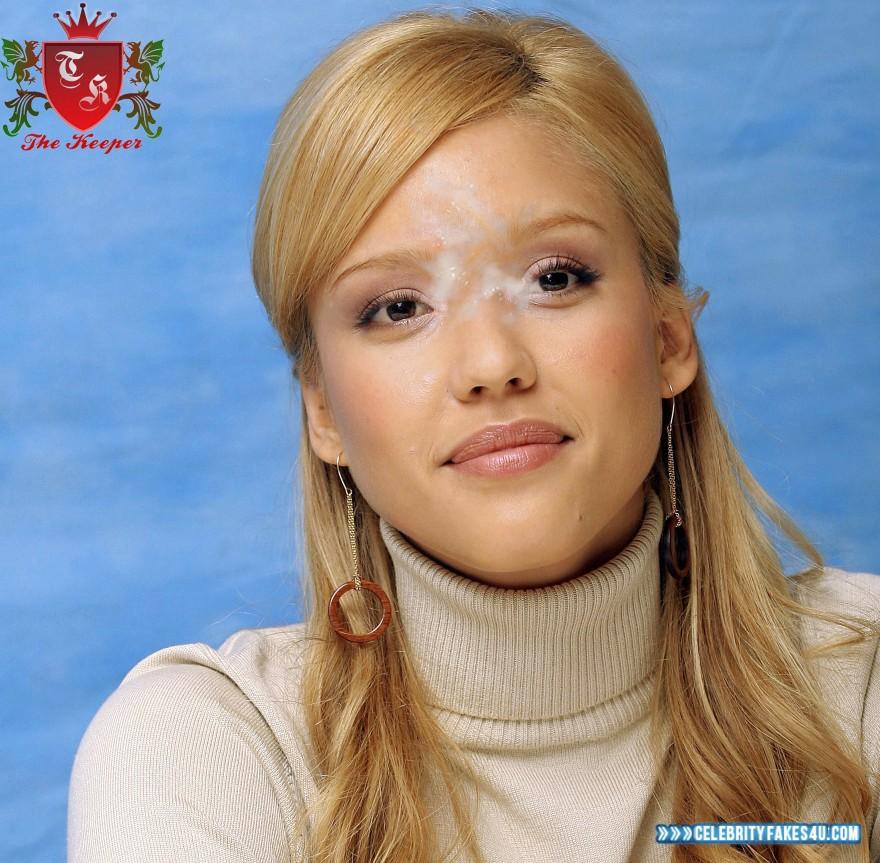 Jessica Alba Facial Porn Fake 001 « Celebrity Fakes 4U