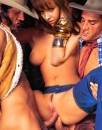 Jessica Alba Double Penetration Gangbang Sex Fake 002
