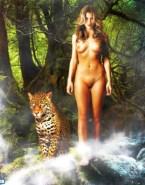 Jessica Biel Tits Outdoor Fake 001