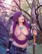 Jessica Nigri Cosplay Exposed Tits 001