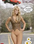 Jessica Simpson Pantieless The Dukes Of Hazzard Naked 001