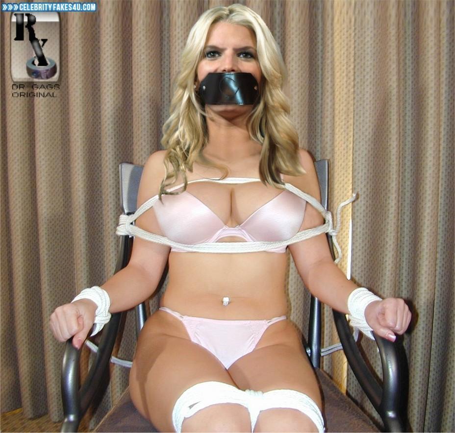 Adult Bondage Porn jessica simpson thong bondage porn 001 « celebrity fakes 4u