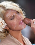Jessica Simpson Interracial Cumshot Facial Sex 001