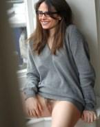 Jordana Brewster Glasses No Panties Naked Fake 001