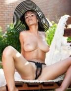 Jordana Brewster Tits Legs Spread Pussy Nude Fake 001