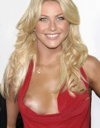 Julianne Hough Nipple Slip Public Nsfw Fake 001
