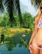 Julie Benz Bikini Undressing 001