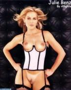 Julie Benz Pantiless Lingerie 001