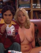 Kaley Cuoco Nice Tits Big Bang Theory Naked Fake 001