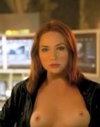 Karen Gillan Breasts Redhead Porn Fake 001