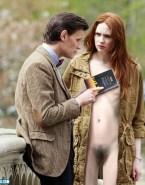 Karen Gillan Hairy Pussy Doctor Who Fake 002