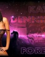 Kat Dennings Lingerie Horny Naked Fake 001