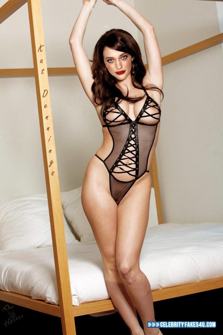 Kat Dennings Lingerie Horny Porn Fake 001 « Celebrity Fakes 4U