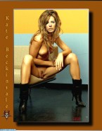 Kate Beckinsale Pantieless Legs Spread Porn 001