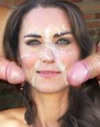 Kate Middleton Gangbang Facial Sex 001