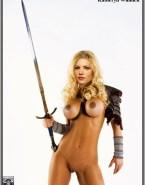 Katheryn Winnick Big Tits Blonde Porn Fake 001