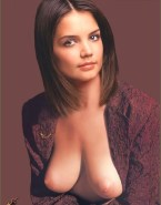 Katie Holmes Nude Exposed Breasts 001
