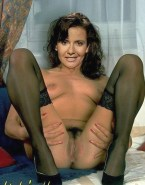 Katrin Huss Stockings Pussy Nudes 001