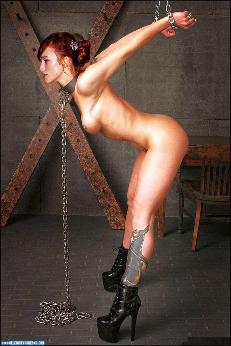 High heel penetration