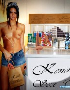 Kendall Jenner Nipples Pierced Hacked Naked Fake 001