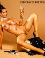 Kim Kardashian Wet Legs Spread Fake 001