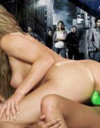 Kristen Bell Strap On Lesbians Heroes Tv Series 001