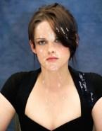 Kristen Stewart Cumshot Facial Nudes 001