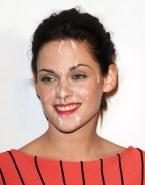 Kristen Stewart Facial Cumshot Porn 001
