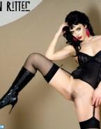 Krysten Ritter Lingerie Vagina Legs Spread Nsfw Fake 001