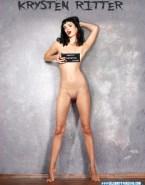 Krysten Ritter Naked Body Legs Fake 001